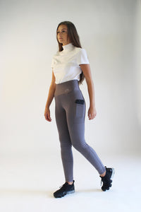 Gallop High-Waist Pocket Tights