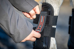 LeMieux Junior Pro Tendon Boots Black