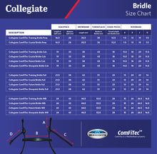 Load image into Gallery viewer, COLLEGIATE COMFITEC TRAINING BRIDLE