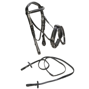 CALDENE BRIDLE FLASH CRANK WITH REINS