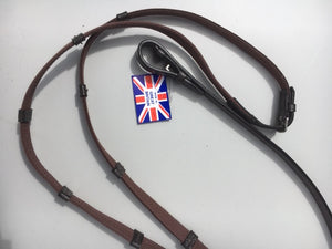 CDH ENGLISH LEATHER Continental Reins