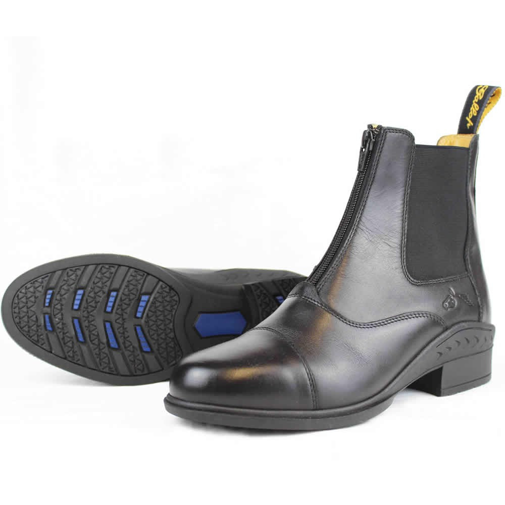 Gallop Adult Elegance Leather Paddock Zip Boots