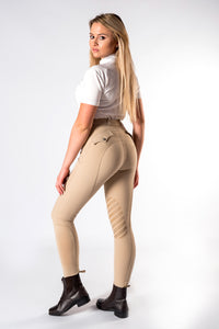 Equine-by-Design Ladies Silicone Knee Breech