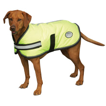 Load image into Gallery viewer, WEATHERBEETA COMFITEC REFLECTIVE PARKA 300D DOG COAT