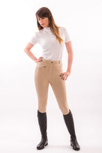Load image into Gallery viewer, Equine-by-Design Ladies Standard Knitted Cotton Breech