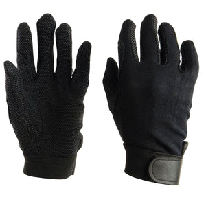 DUBLIN TRACK RIDING GLOVES - CHILDS