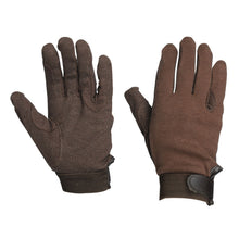 Load image into Gallery viewer, DUBLIN TRACK RIDING GLOVES - ADULT
