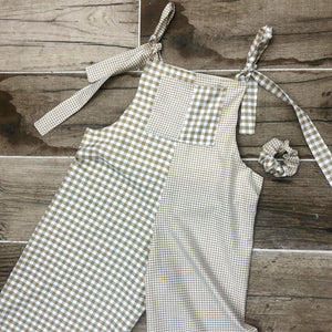 The Ellie Dungaree dress