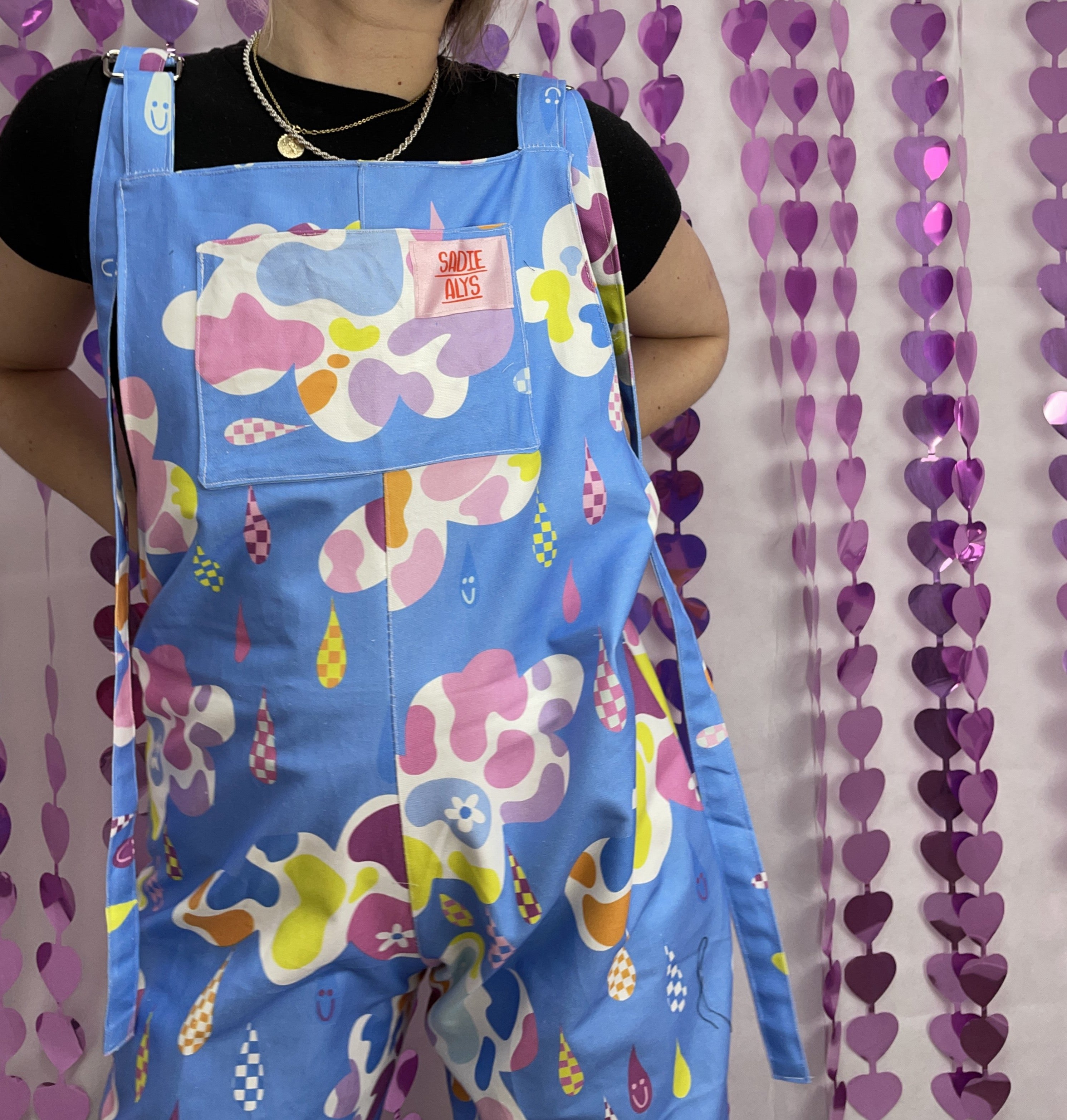 LIMITED EDITION Katie Peck X Sadie Alys Dungarees