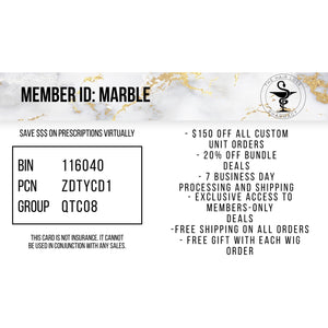 MARBLE SAVINGS CARD- 1 YEAR