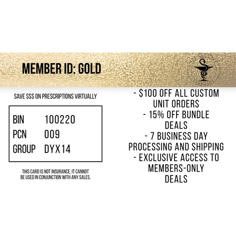 GOLD SAVINGS CARD- 6 MONTHS