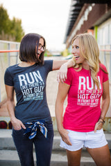 Hot Guy Tee - Women's (Heather colors)