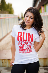 Hot Guy Tee - Women's (White)