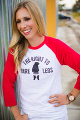 Right to Bare Legs Raglan Jersey