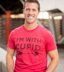 I'm With Cupid 2015 Raceday Tee