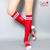 Bombas x Cupid's #ImWithCupid Knee High Socks, Red/White
