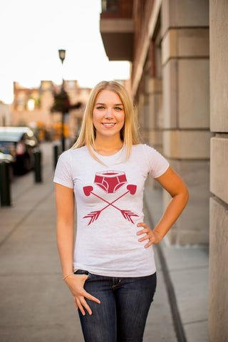 Crossed Undies Tee - Women's