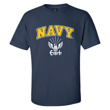 Load image into Gallery viewer, Navy Logo T-Shirt