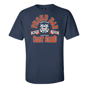Proud Coast Guard Dad T-Shirt