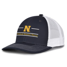 Load image into Gallery viewer, Navy Everyday Trucker Hat