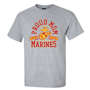 Proud Marine Mom Semper Fi T-Shirt