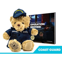 Load image into Gallery viewer, Coastie Sleeptight Coast Guard Teddy Bear