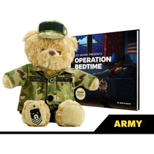 Load image into Gallery viewer, Sgt. Sleeptight Army Teddy Bear and Sleep System