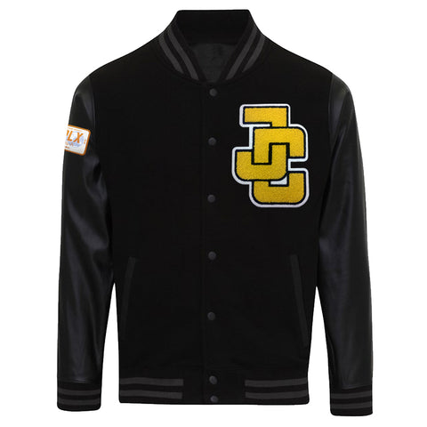 Jeff Cobb Letterman Jacket (Black)