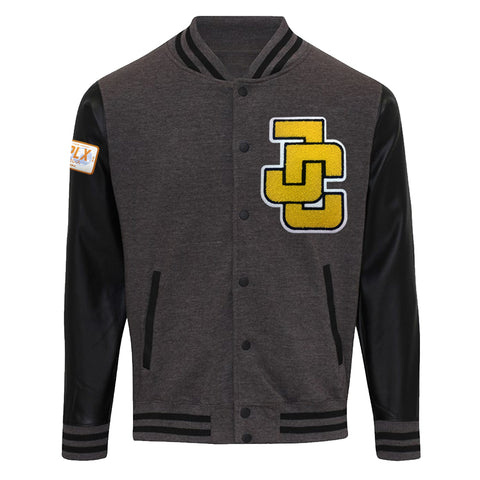 Jeff Cobb Letterman Jacket (Charcoal)