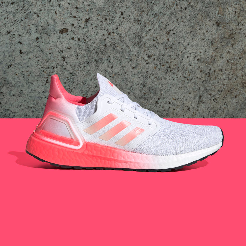 The adidas Ultraboost 20 helps us unlock that best-run-ever feeling with a sock-like fit and the energy-returning edge of Boost technology. Check out our favorite adidas Ultraboost 20 colorways!!