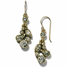 Load image into Gallery viewer, Gold Cherish Earrings in All Crystal