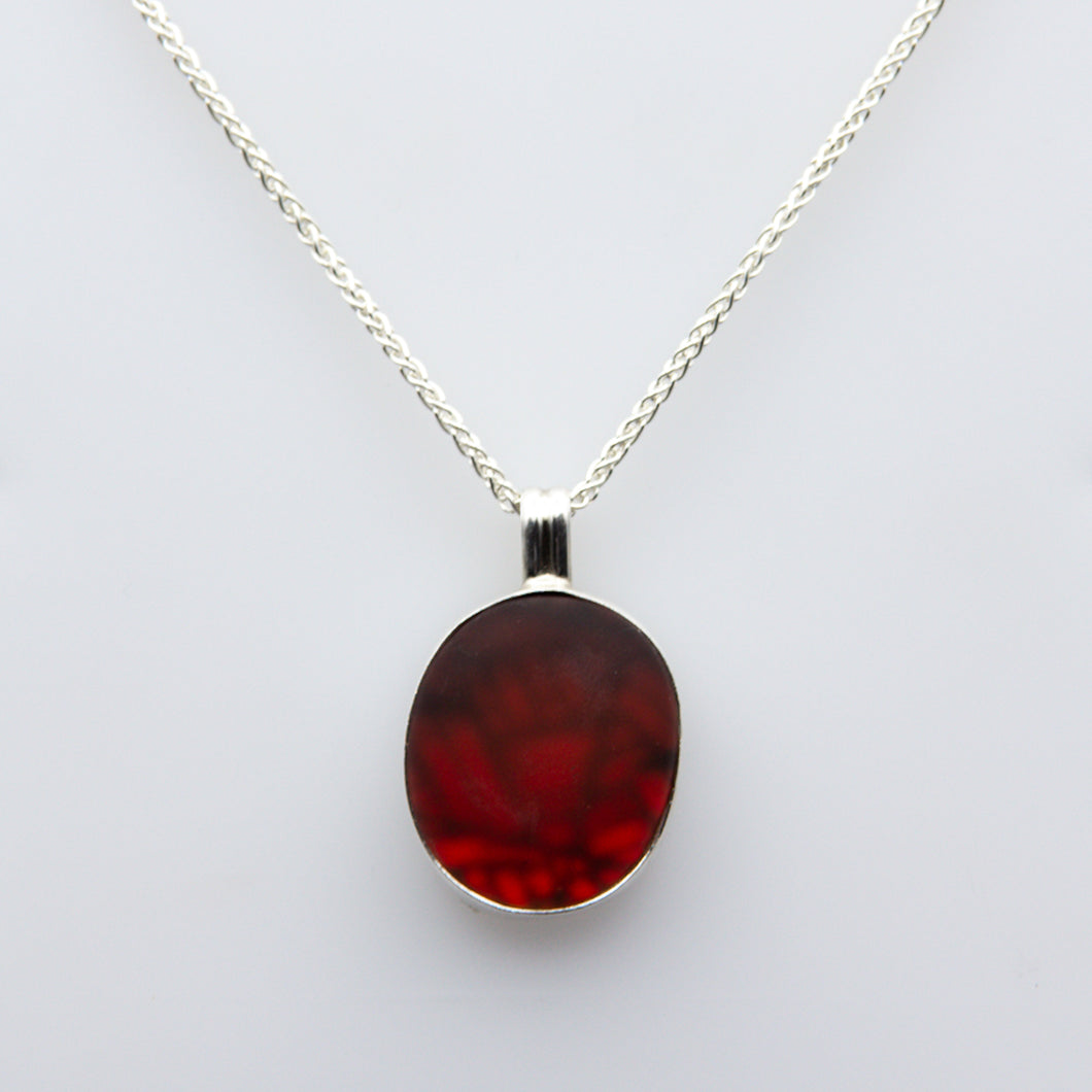 Red & Black Frozen Moment Necklace