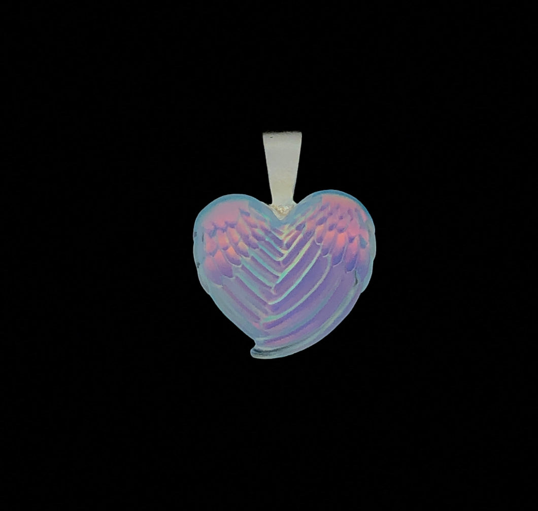 Wing Heart Pendant