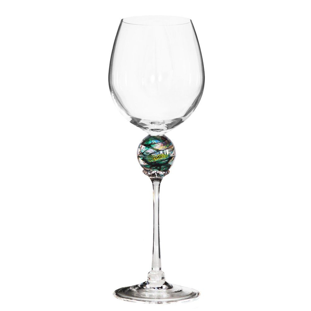 Green Planet Wine Glass