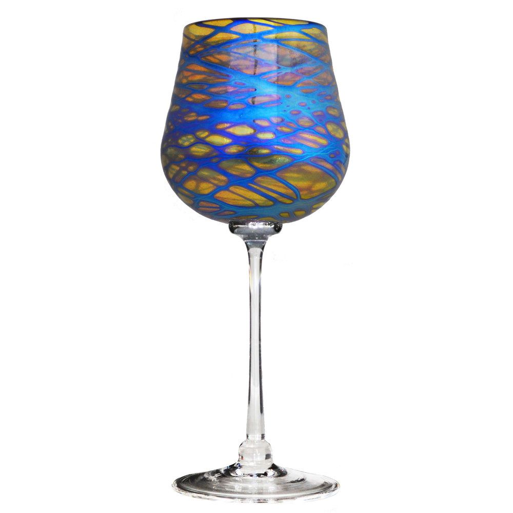 Florentine Wine Glass