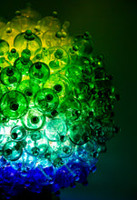 Load image into Gallery viewer, Gradient Green Bubble Lamp