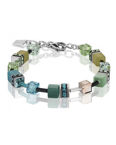 Green Cat Eye Bracelet