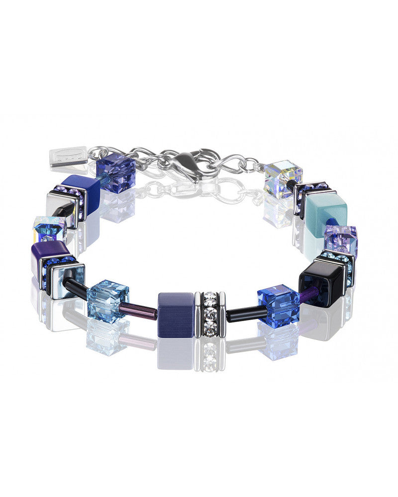 Purple and Turquoise Bracelet