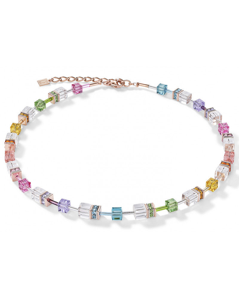 Clear and Multicolor Necklace