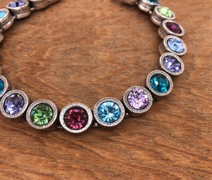 Silver 40 Love Bracelet in Waterlily