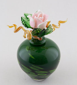 Delicate Rose Jar