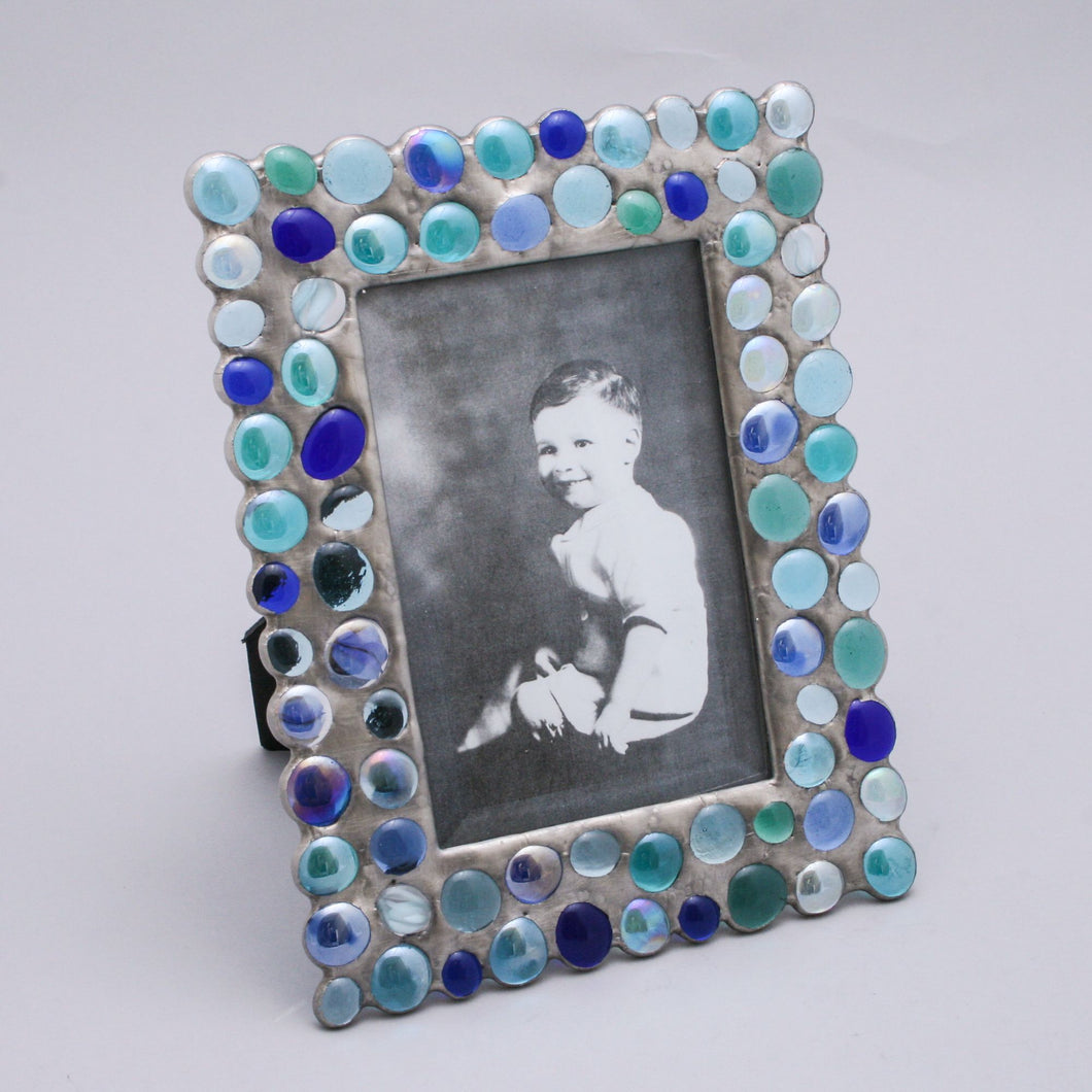 Blue Bubble Frame