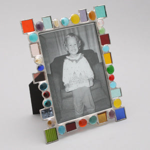 Dot Dash Multi Colored Frame
