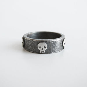 Five Skull Ring - Size 11.5