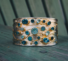 Load image into Gallery viewer, Multi-Gemstone Cuff