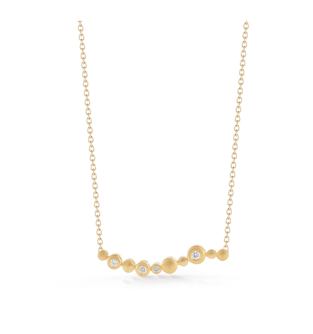 Cono Meridian Bar Necklace