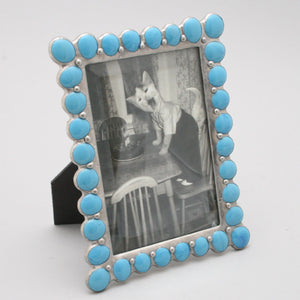 Opaque Blue Jewel Frame