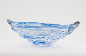 Ice Blue Water Bowl