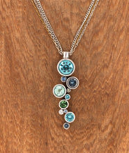 Load image into Gallery viewer, Silver & Zephyr Applause Necklace