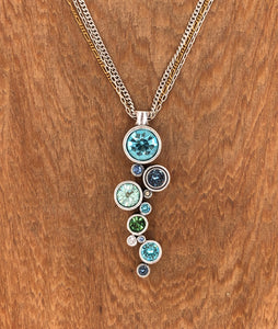 Silver & Zephyr Applause Necklace